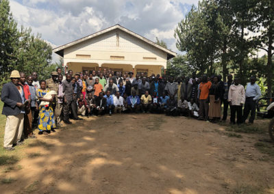 Group photo at CTPH meeting with Reformed Poachers - January 2019