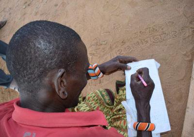 NRTT Moran Sacco member Lemula Lekemoisa Westgate Conservancy has learned to invest savings and use loans to build on his bu