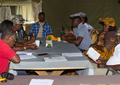 Task Force meeting with Conservancies to discuss the Draft Management Plan 2