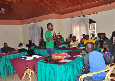 Training of Conservation Champions