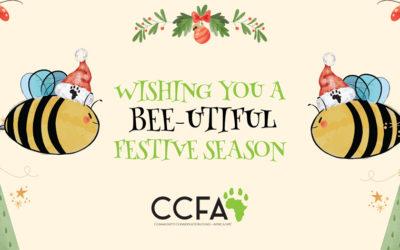 CCFA wishing you a Bee-utiful festive season.